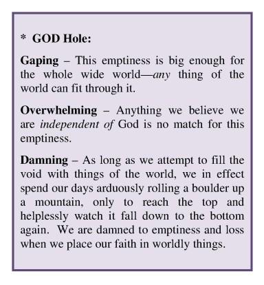 Graphic GOD Hole