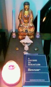 Buddha Altar July 2015