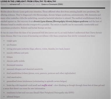 LymeLight Intro Link