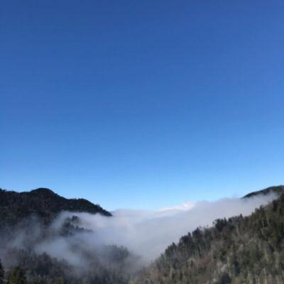 Mountain Fog and Sky Alison